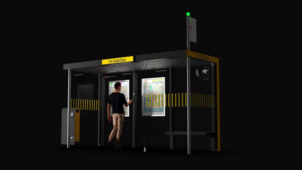 BC design: 3D visualisatie straatmeubilair